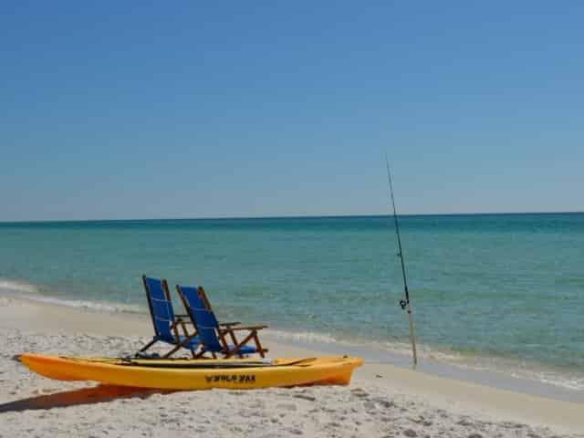 M.B. Miller County Pier public beach in</p><p></p><p>panama city beach