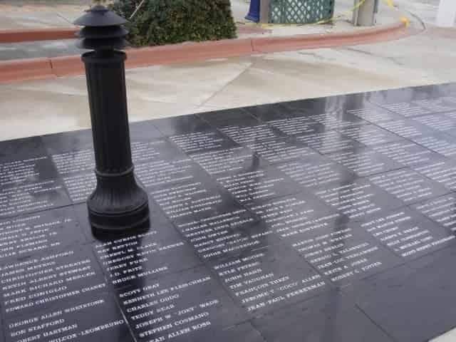 key west aids memorial near higgs beach