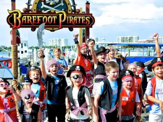 barefoot pirate cruise in myrtle beach