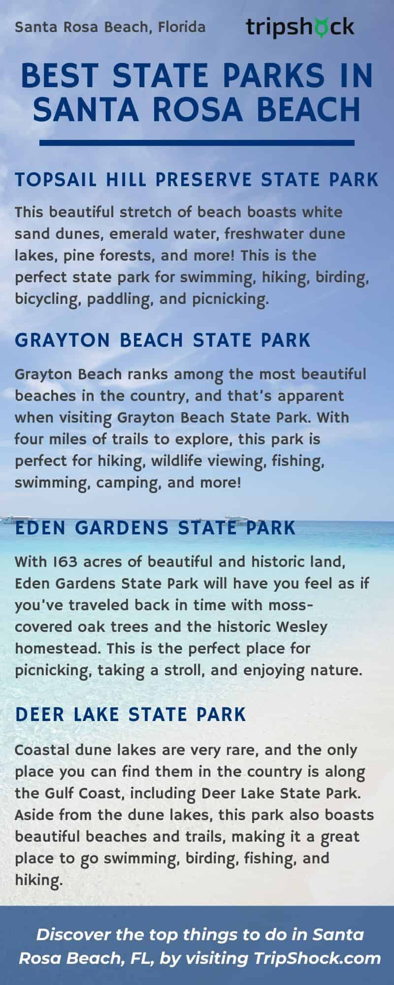 Best State Parks in Santa Rosa Beach