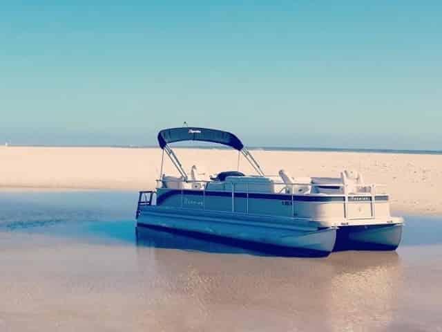 key west pontoon boat rental