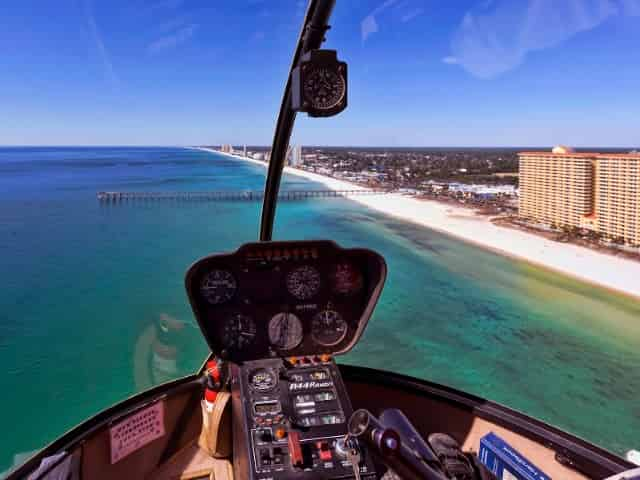 helicopter tour in panama city beach florida