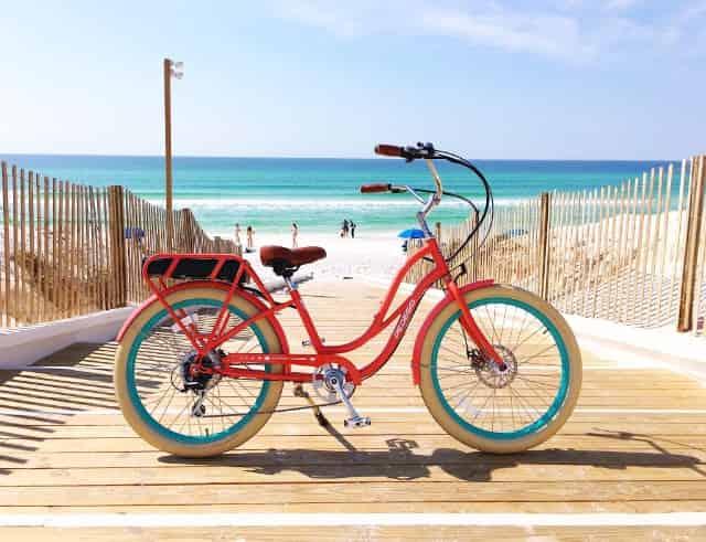 bicycle tours near beach on 30a santa rosa beach