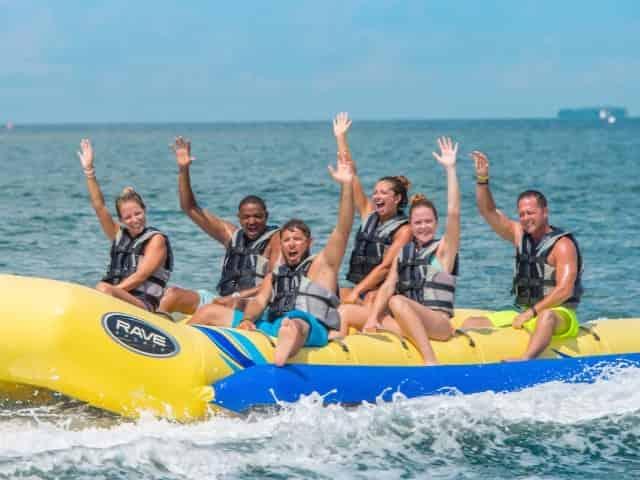 banana boating in ket west florida