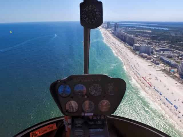 helicopter tours in gulf shores for couples
