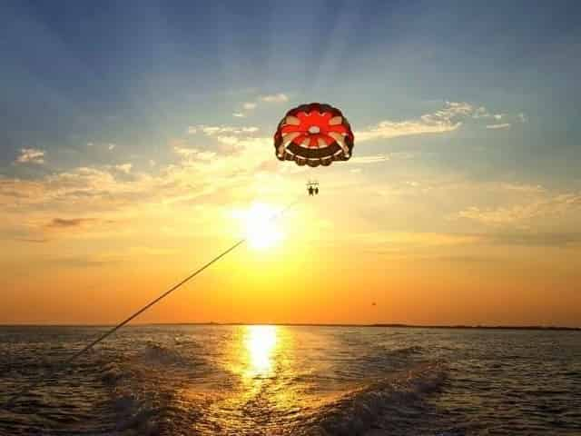 parasailing in gulf shores for couples