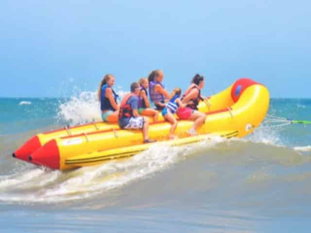 myrtle beach sc family banana boat ride