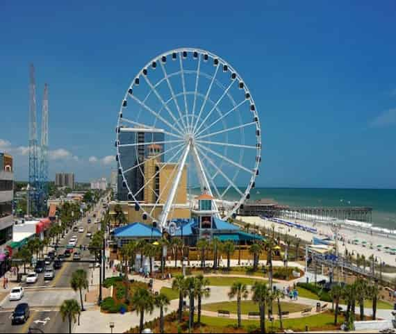 myrtle beach sc attractions for families at the boardwalk