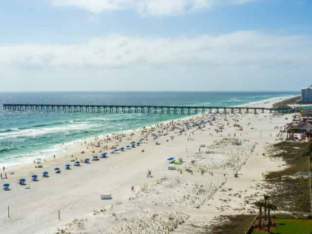 gulf pier in pensacola beach florida