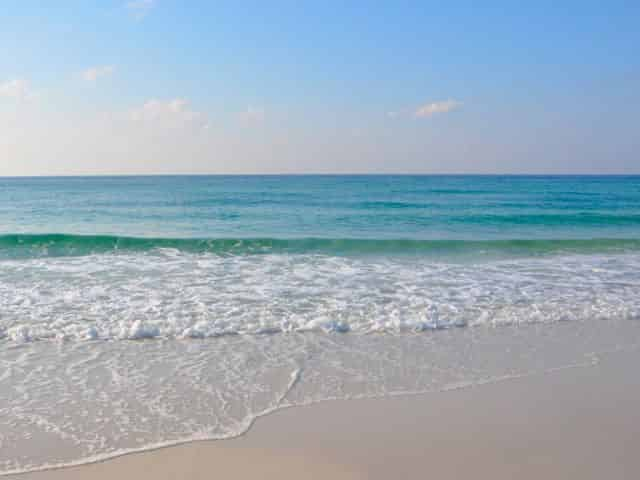 Gulf Coast Beaches in the Fall