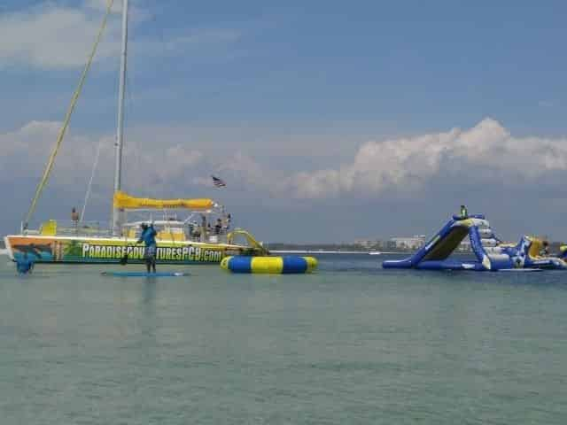 Adventure Tour With Inflatable Waterpark Aboard The Privateer Catamaran