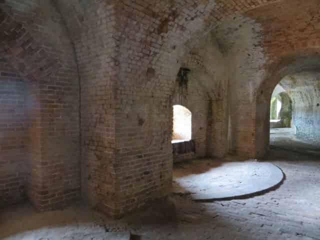 Fort Pickens in Pensacola Beach, FL