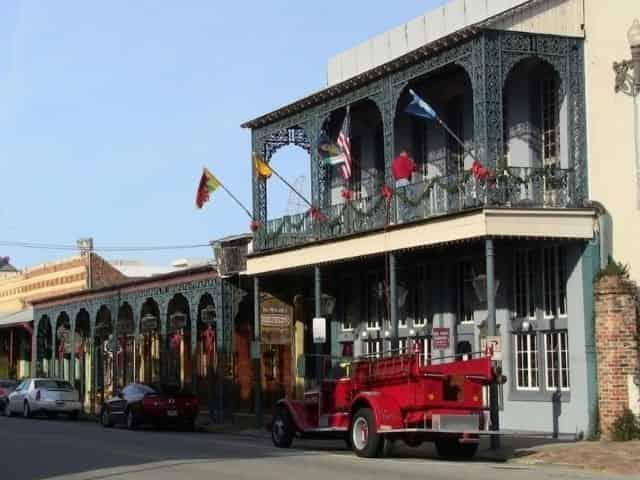 Seville Quarter in downtown Pensacola, FL