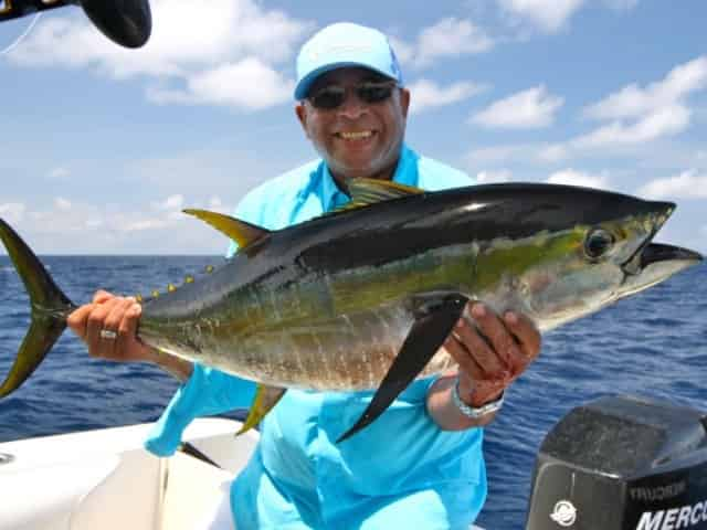 massive tuna caught deep sea fishing in Key West