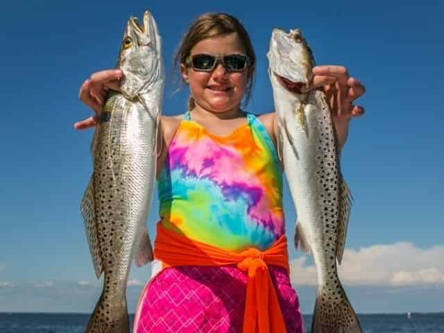 family friendly fishing in Gulf Shores and Orange Beach