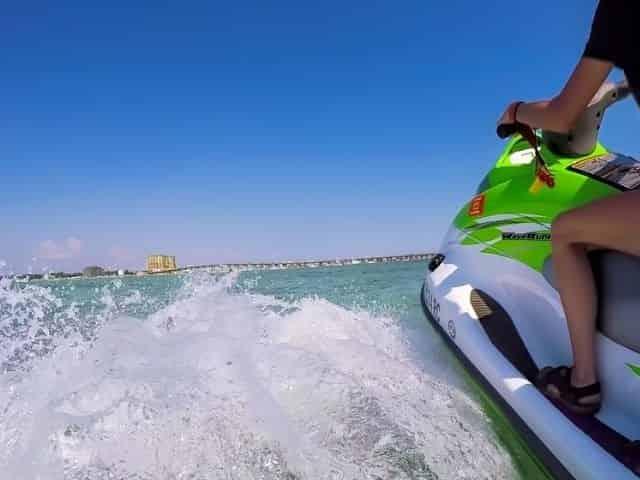 Crab Island jet ski rental