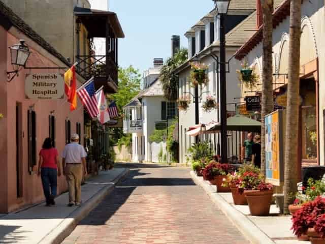 Colonial Quarter in downtown St. Augustine