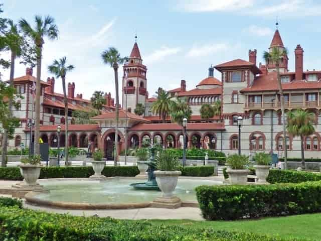 Flagler College in downtown St. Augustine