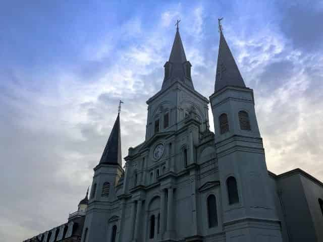 St. Louis Cathedral in Jackson Square