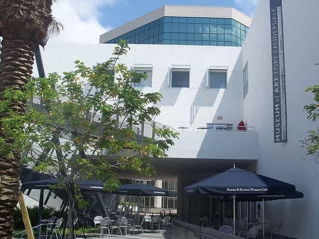 NSU Art Museum in Downtown Fort Lauderdale