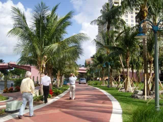 Riverwalk in Downtown Fort Lauderdale
