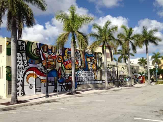 graffiti mural in downtown Hollywood