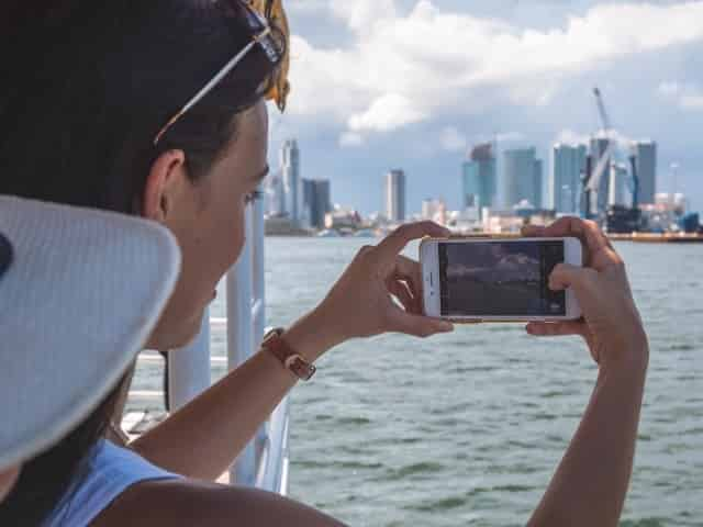 see the city from a miami boat tour