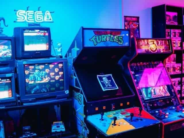 video games at a Perdido Key arcade