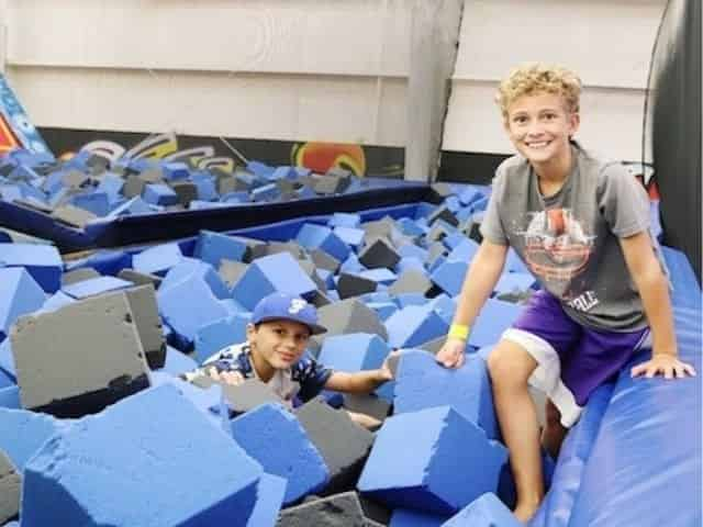 foam pit at The Factory Gulf Shores