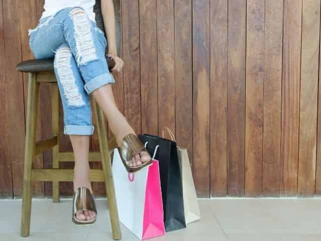 shopping in Perdido Key when it rains