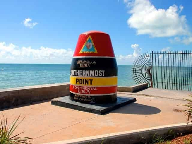 the southernmost point in key west fl
