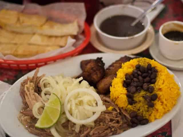 cuban food from el siboney restaurant in key west fl