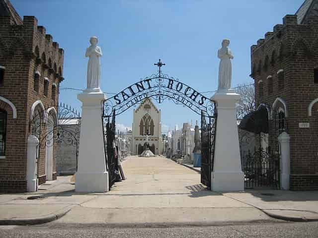 st roch cemetery #1 entrance