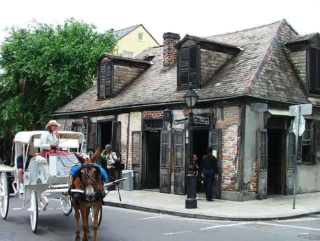 haunted lafittes blacksmith shop