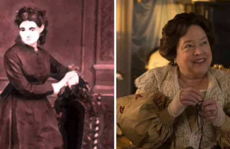 madame lalaurie and kathy bates side by side