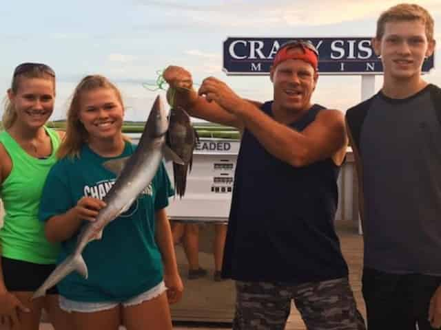 shark fishing aboard the new inlet princess
