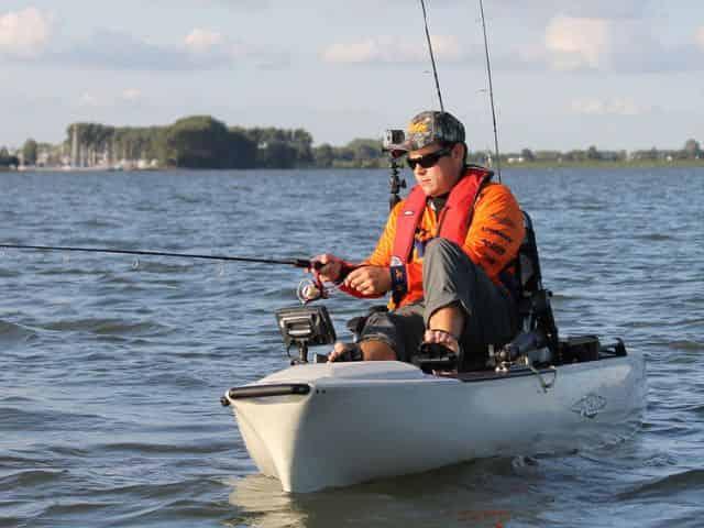 Fishing On A Kayak