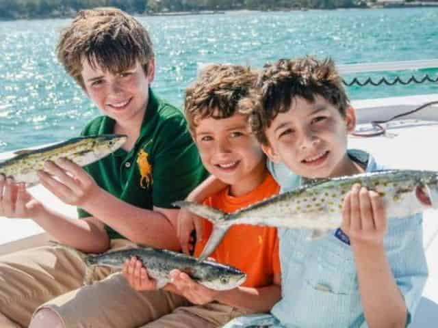 Kids Fishing Destin Florida