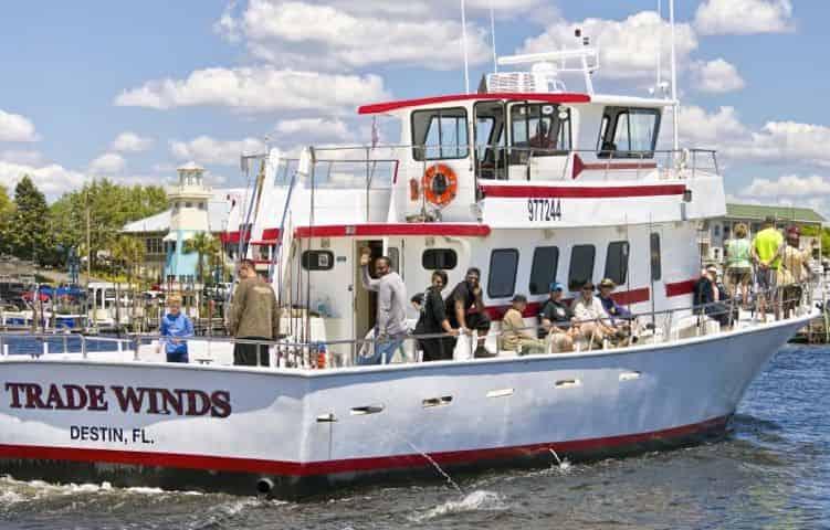 Semi Private Party Boat