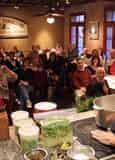 New Orleans Food Demo - Crawfish Etouffee, Shrimp & Artichoke Soup, and Bread Pudding