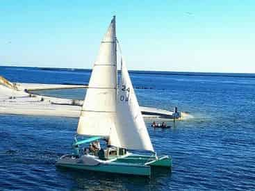 Sail and Swim From the Destin Harbor