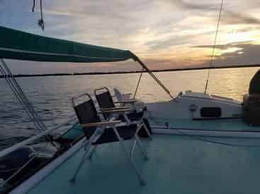 Swim and Sunset Sailing Excursion From the Destin Harbor