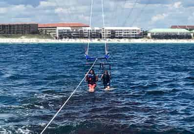 A Dip with the Dolphins Morning Parasailing on Okaloosa Island