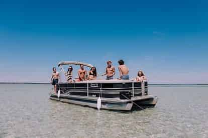 24 ft. Pontoon Boat Rental Departing From Okaloosa Island