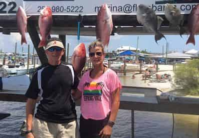 Offshore and Inshore Fishing with Salt Style Guide Service