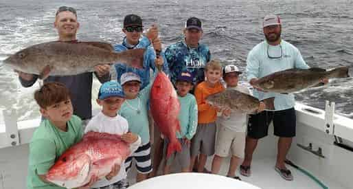 Charter Boat Phoenix Deep Sea Fishing Excursion