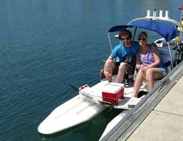 CraigCat Compact Sport Boat Hourly Rentals in Orange Beach