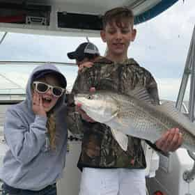 Inshore Fishing Charter with Just Fish PCB