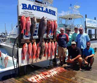 Charter Boat Backlash Offshore Fishing Charters