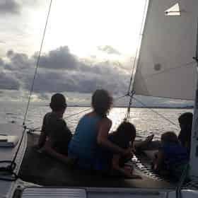 Sunset and Fireworks Catamaran Cruise